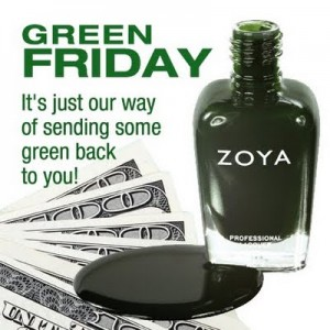 Zoya Green Friday 300x300 Forget Black Friday Its FREE GREEN FRIDAY
