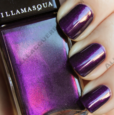 illamasqua baptiste nail polish varnish Illamasqua Boo! Pantomime Nail Duo Swatches & Review