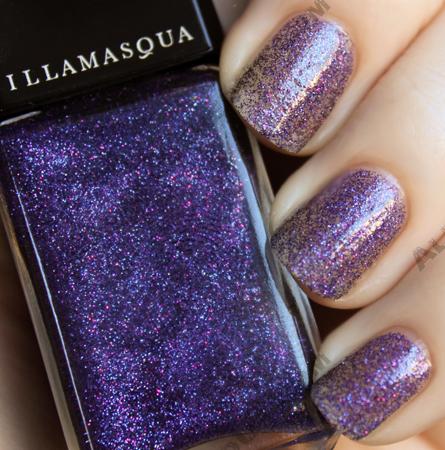 illamasqua boo pantomime glitter nail polish Illamasqua Boo! Pantomime Nail Duo Swatches & Review