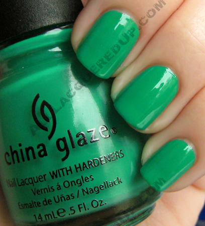 china glaze four leaf clover up away China Glaze Up & Away Swatches, Review and Comparisons   Part 2