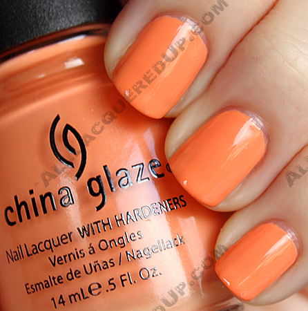 china glaze peachy keen China Glaze Up & Away Swatches, Review and Comparisons   Part 2