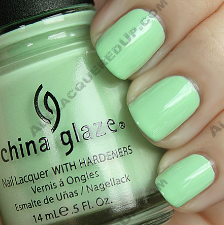 china glaze re fresh mint refresh China Glaze Up & Away Swatches, Review and Comparisons   Part 2