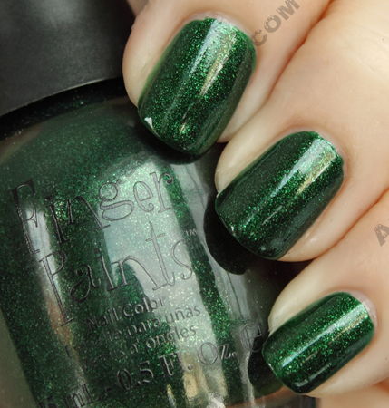 finger paints evergreen dream fingerpaints A Little Holiday Green from Finger Paints