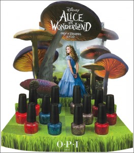 OPI Alice In Wonderland Collection Swatches Review for Spring 2010 All Lacquered Up from alllacqueredup.com