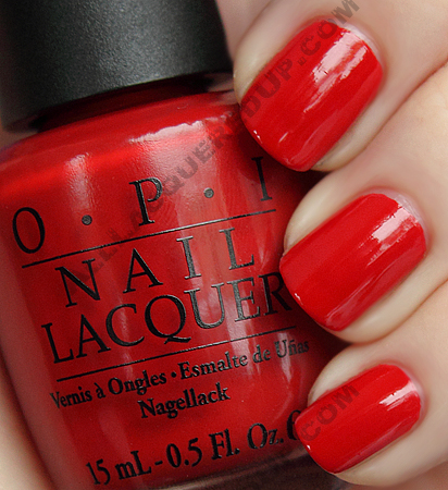 opi off with her red alice wonderland OPI Alice In Wonderland Collection Swatches & Review