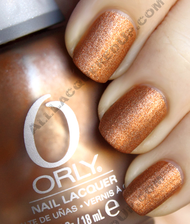 orly glam rock metallic matte metal chic nail polish Orly Metal Chic Metallic Matte Swatches & Review
