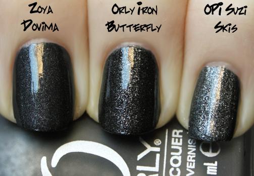 orly-iron-butterfly-zoya-dovima-opi-suzi-skies-pyrenees-matte