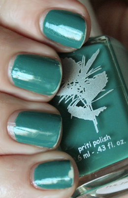 priti 5 day wear test Priti Tulip Tree Teal for Ovarian Cancer Awareness