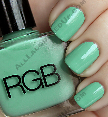 rgb minty holiday 09 nail polish wm RGB Minty for Holiday 09 Swatches & Review