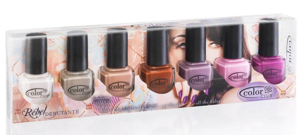 Color Club Rebel Debutante Collection Nail Polish Bottles