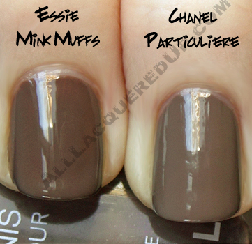 chanel particuliere essie mink muffs Chanel Particulière, Inattendu & Tendresse Swatches & Review