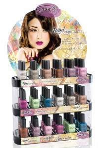 color club rebel debutante nail polish display 1 210x300 Color Club Rebel Debutante Preview