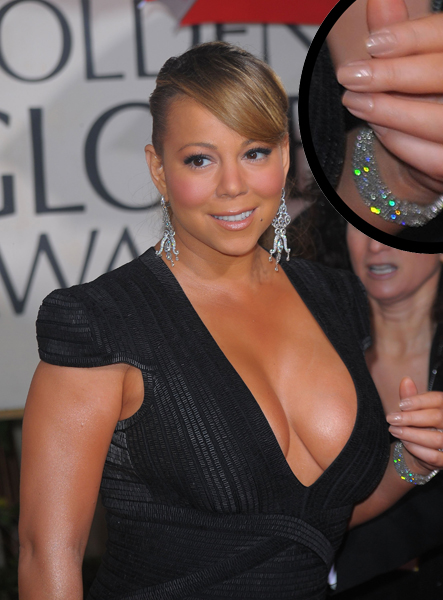 mariah carey golden globes mannequin hands Mannequin Hands at the Golden Globes