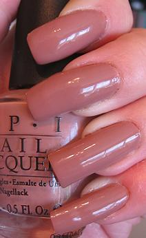 Mannequin Hands with OPI Barefoot in Barcelona