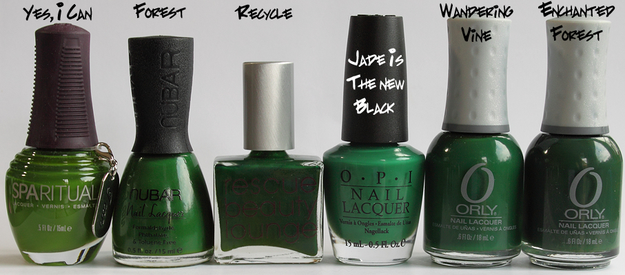 OPI Jade Is The New Black, Free Shipping at Nail Polish Canada