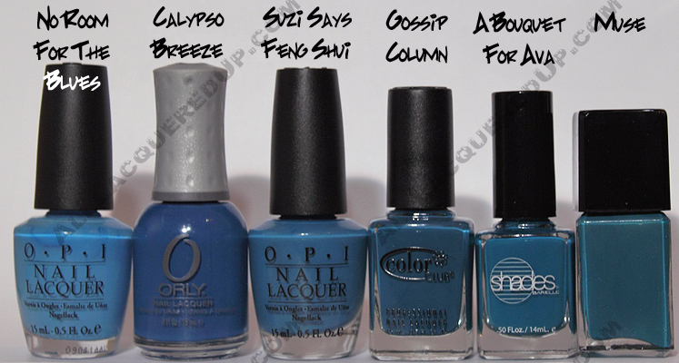 opi suzi says feng shui comparison ALUs 365 of Untrieds   Barielle A Bouquet For Ava