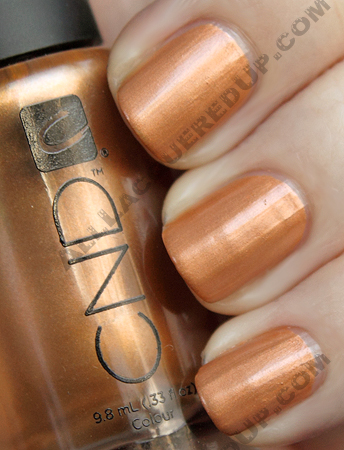 cnd copper chrome super matte CND Monday   Layering at Diego Binetti