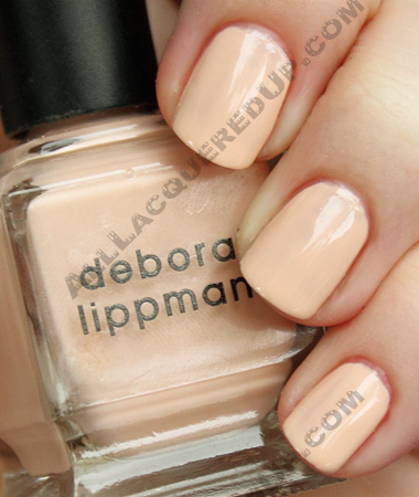 deborah lippmann not that innocent Deborah Lippmann Spring 2010 Swatches & Review