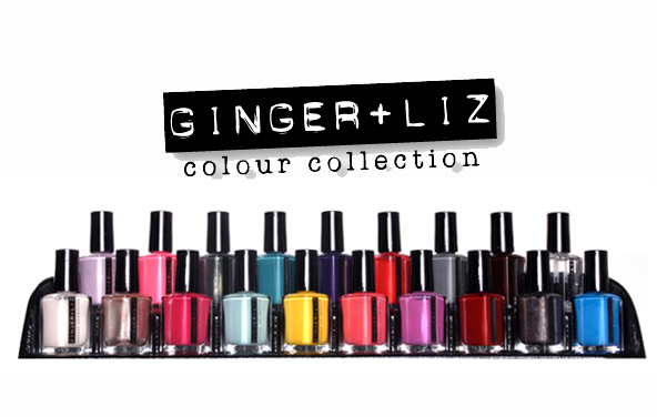 ginger + liz colour collection nail polish Meet Ginger + Liz Nail Colour