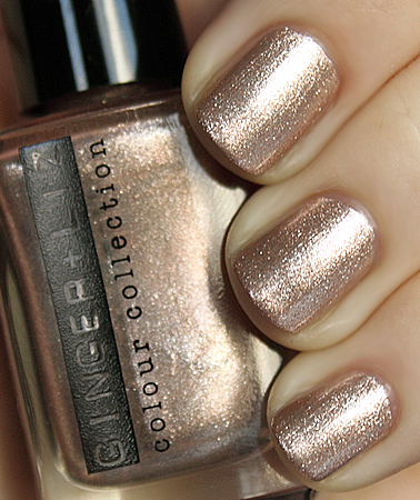 ginger liz swagger gold metallic nail polish Meet Ginger + Liz Nail Colour