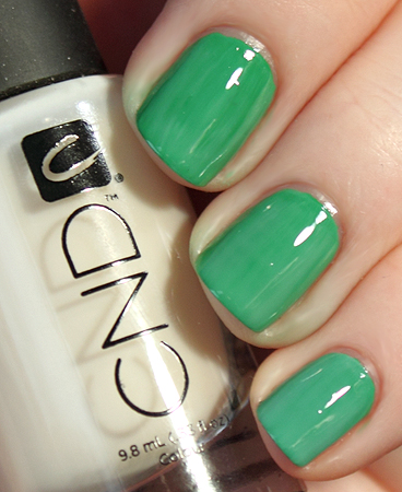 nyfw notd challenge day 5 cnd CND Monday   Day 5 of the ALU NYFW NOTD Challenge
