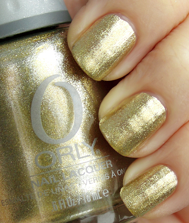 orly luxe foil fx metallic nail polish spring 2010 Orly Foil FX Collection Swatches & Review