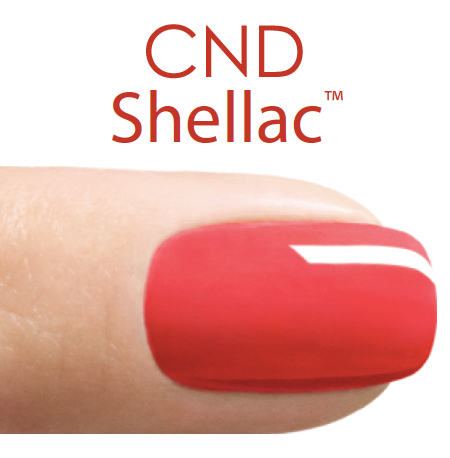 Shellac gel manicure