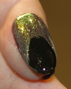 cnd threeasfour dark ruby jade sparkle blackjack CND Monday   A New Fave Found At THREEASFOUR