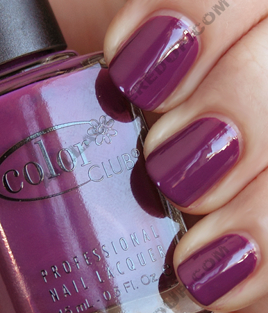 color club ms socialite rebel debutante Color Club Rebel Debutante Swatches & Review
