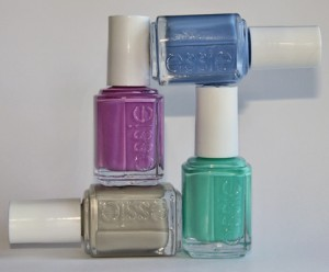 essie resort collection summer 2010 swatches bottles