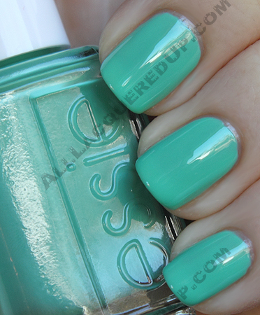 essie turquoise caicos swatch resort collection