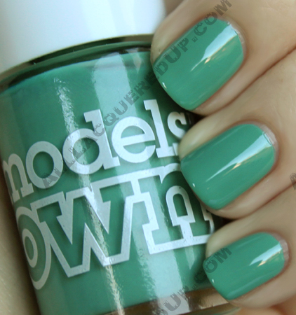 models own slate green The ALU Archives   Models Own Slate Green