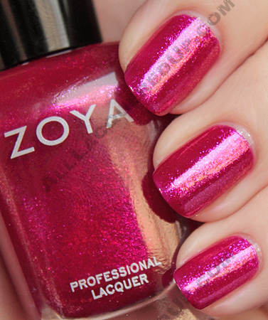 zoya alegra swatch sparkle summer 2010 Zoya Sparkle Collection Swatches & Review