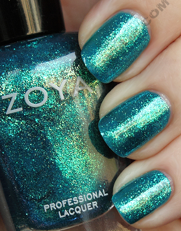 zoya charla swatch sparkle summer 2010 Zoya Sparkle Collection Swatches & Review