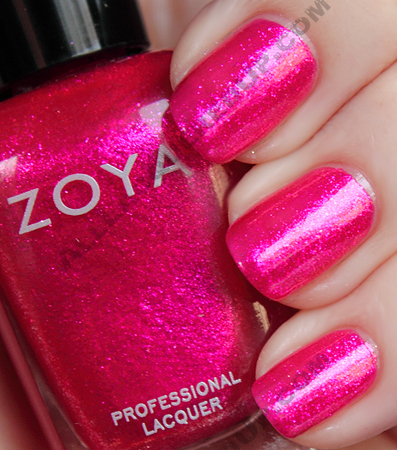 zoya gilda swatch sparkle summer 2010 1 Zoya Sparkle Collection Swatches & Review