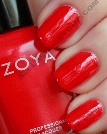 zoya maura swatch flash summer 2010 Zoya Flash Collection Swatches & Review