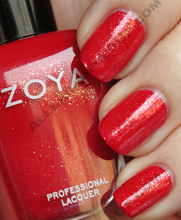 zoya nidhi swatch sparkle summer 2010 Zoya Sparkle Collection Swatches & Review