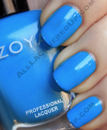 zoya robyn swatch flash summer 2010 Zoya Flash Collection Swatches & Review