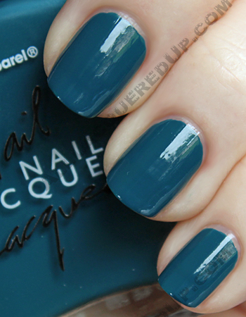 american apparel peacock swatch nail polish