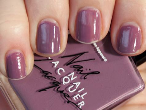 american apparel nail polish wear test