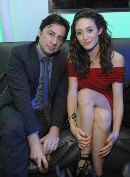 emmy rossum zach braff Fanatic Feedback   Matching Nail Colors to Clothes?