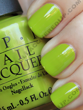 opi who the shrek are you? swatch from the opi shrek forever after collection