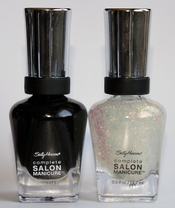 sally hansen complete salon manicure midnight ny hidden treasure bottle