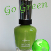 Go Green Week – Sally Hansen Grass Slipper