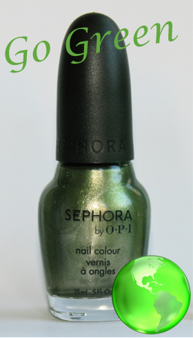 sephora by opi leaf him at the altar sopi bottle Go Green Week   Sephora by OPI Leaf Him at the Altar