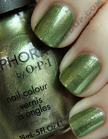 sephora by opi leaf him at the altar sopi modern flowers 1 Go Green Week   Sephora by OPI Leaf Him at the Altar