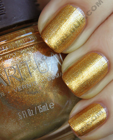 sparitual golden gleam swatch from the kaleidoscope collection