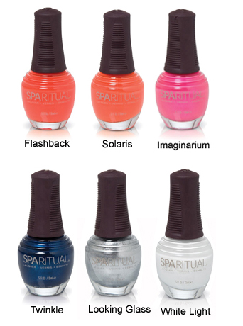 sparitual kaleidoscope collection nail polish bottles SpaRitual Kaleidoscope Collection Swatches, Review & Comparisons
