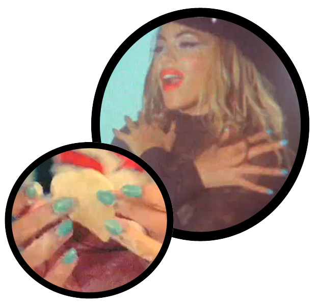 beyonce why dont you love me chanel nouvelle vague nail polish Get The Nail Look   Beyonces Why Dont You Love Me? Video