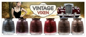 china glaze vintage vixen hotsy totsy six piece set